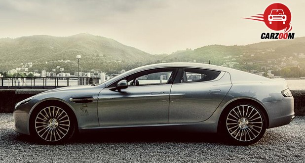 Aston Martin Rapide S Exteriors Side View