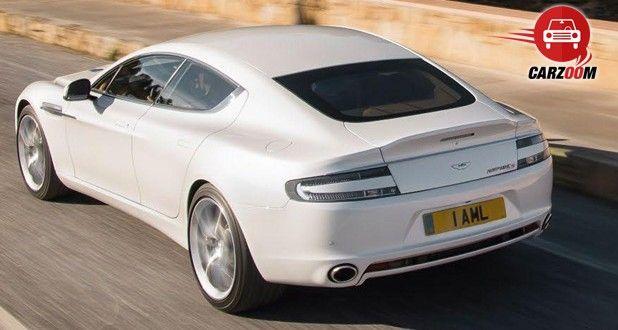 Aston Martin Rapide S Exteriors Top View