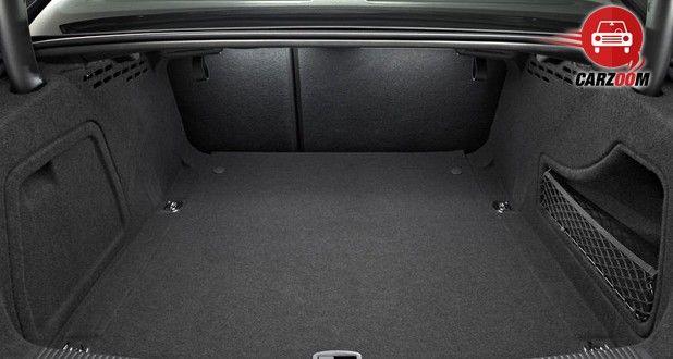 Audi A4 2014 Interiors Bootspace