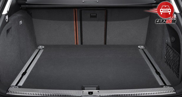 Audi A4 Interiors Bootspace