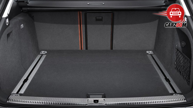 Audi A4 Interiors Bootspace