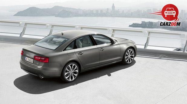Audi A6 Exteriors Top View