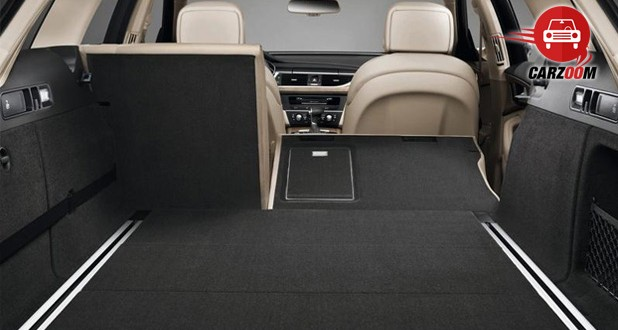 Audi A6 Interiors Bootspace