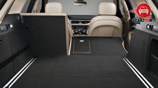 Audi A6 Interiors Bootspace