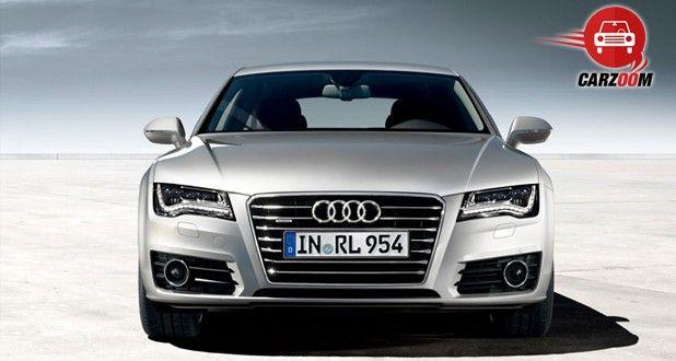 Audi A7 Exteriors Front View