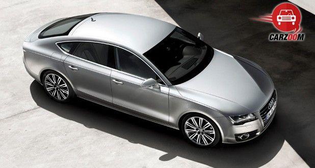 Audi A7 Exteriors Top View