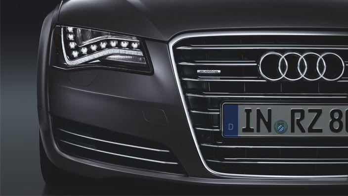 Audi A8 L Exteriors Front View