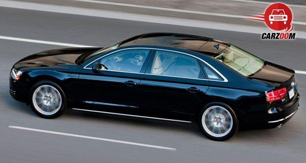 Audi A8 L Exteriors Top View