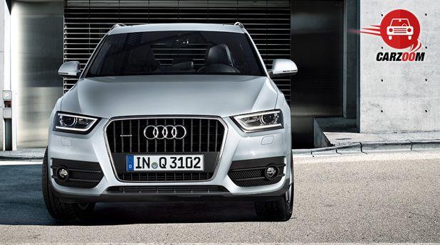 Audi Q3 Exteriors Front View