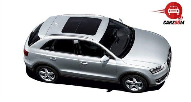 Audi Q3 Exteriors Top View