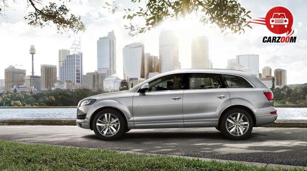 Audi Q7 Exteriors Side View