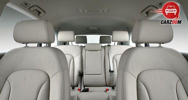 Audi Q7 Interiors Seats