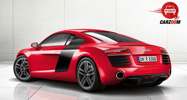 Audi R8 Exteriors Side View