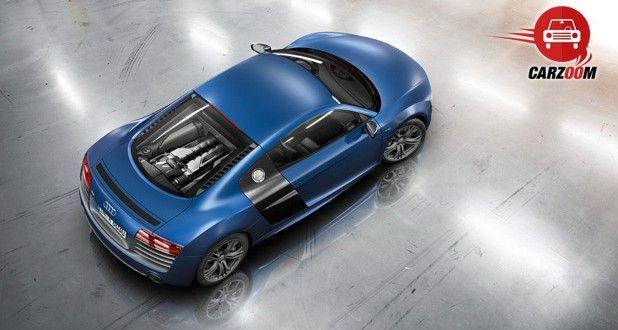Audi R8 Exteriors Top View