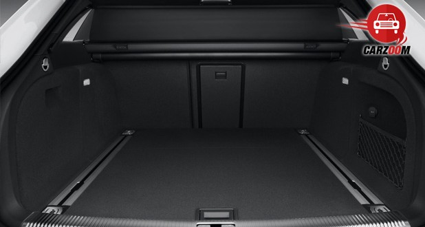 Audi RS5 Interiors Bootspace