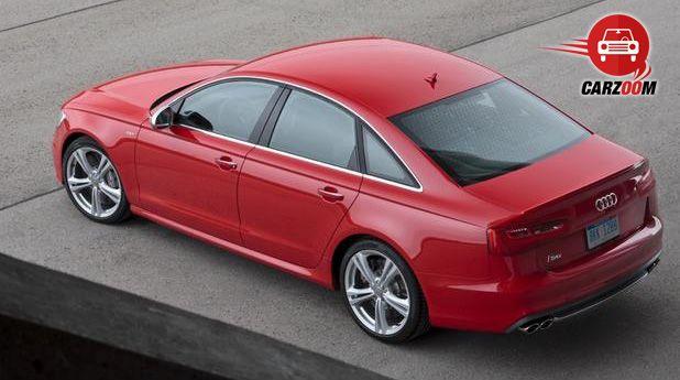 Audi S6 Exteriors Top View