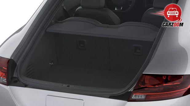 Audi TT Interiors Bootspace