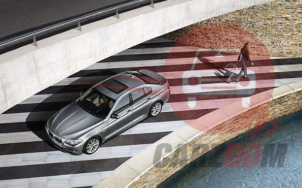 BMW 5 Series Exteriors Top View