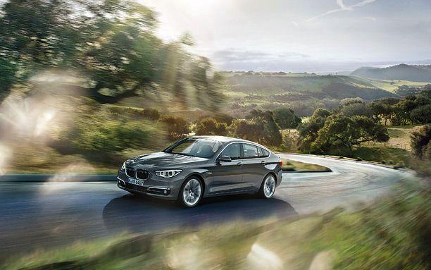 BMW 5 Series GT Exteriors Top View