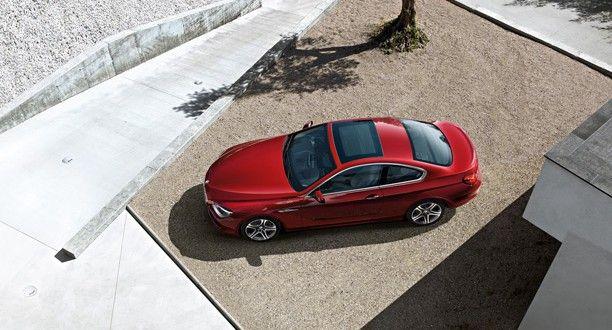 BMW 6 Series Exteriors Top View