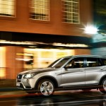 BMW X3 Exteriors Side View