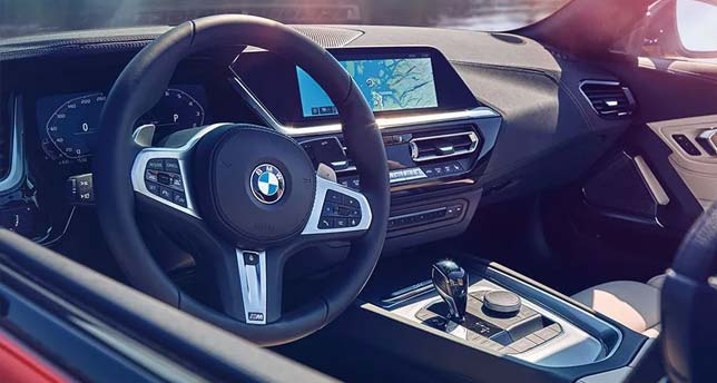 BMW-Z4-Dashboard