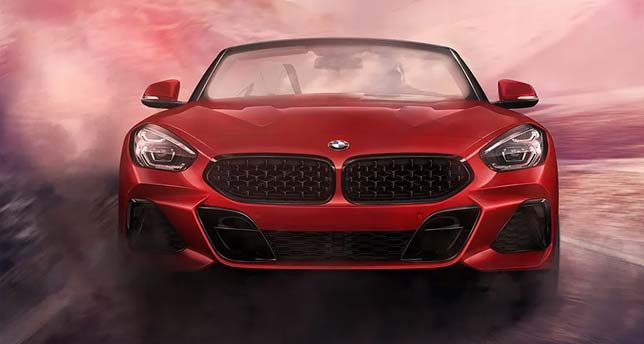 BMW-Z4-Front-dynamic-View
