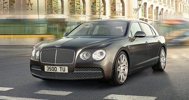 Bentley Continental Flying Spur Exteriors Front View