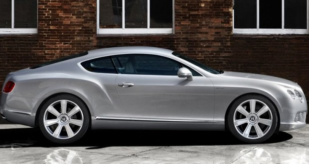 Bentley Continental GT Exteriors Side View