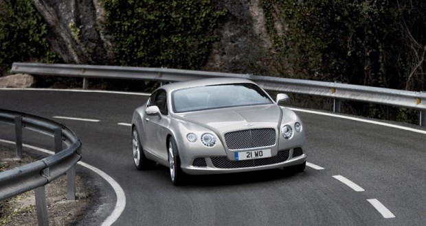 Bentley Continental GT Exteriors Top View