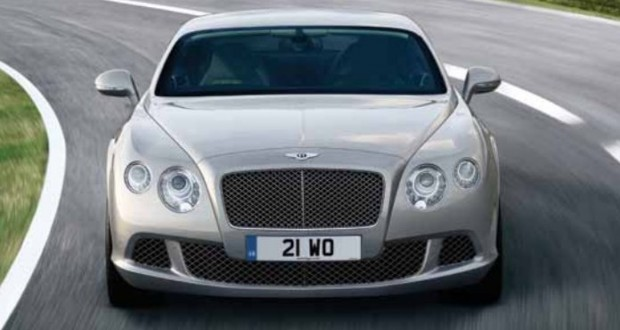 Bentley Continental GTC Exteriors Front View