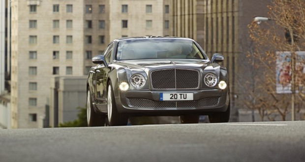 Bentley Mulsanne Exteriors Front View