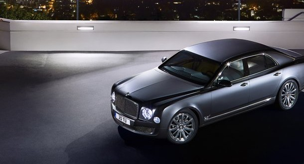 Bentley Mulsanne Exteriors Top View