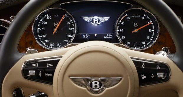 Bentley Mulsanne Interiors Dashboard