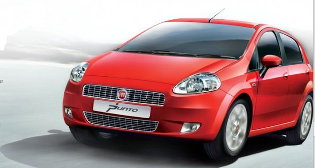 Fiat Grande Punto Exteriors Front View