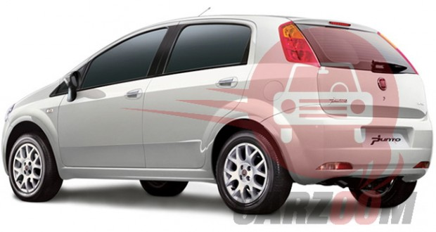Fiat Grande Punto Exteriors Side View