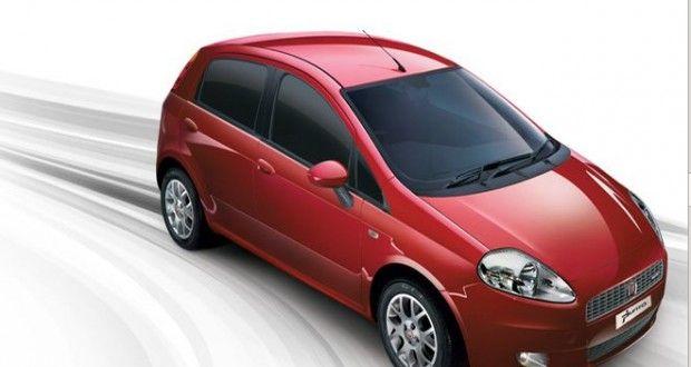 Fiat Grande Punto Exteriors Top View