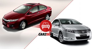 New Honda City 2014 (4th Generation) vs Honda City (3rd Generation)