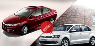 New Honda City 2014 vs Volkswagen Vento