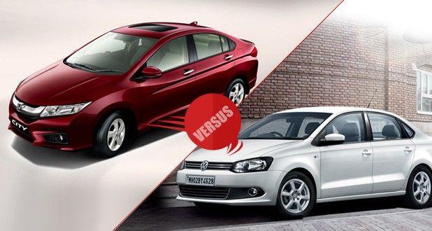 New Honda City 2014 vs Volkswagen Vento