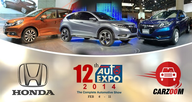 Honda to launch Mobilio, Jazz & Vezel at 2014 Auto Expo
