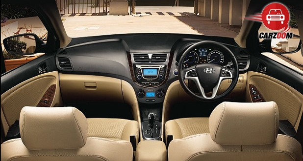 Hyundai Verna Interiors Dashboard