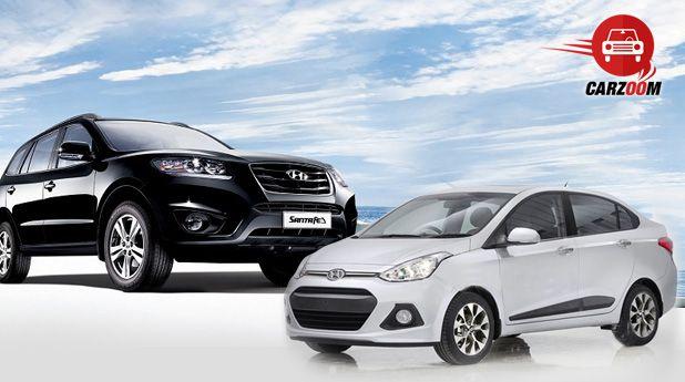 News on Launch of Hyundai's Grand i10 sedan and Santa-Fe