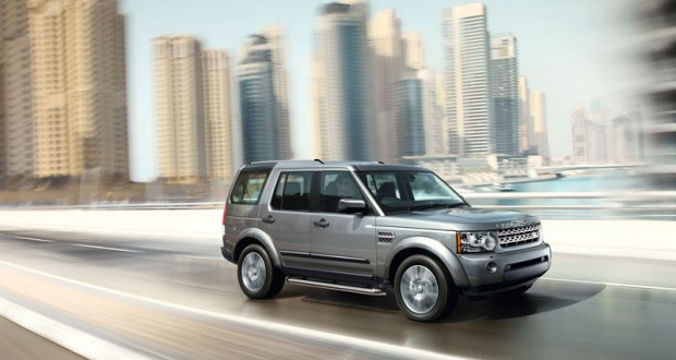Land Rover Discovery 4 Exteriors Side View