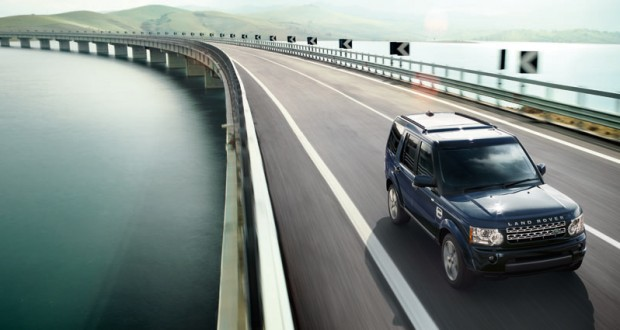 Land Rover Discovery 4 Exteriors Top View