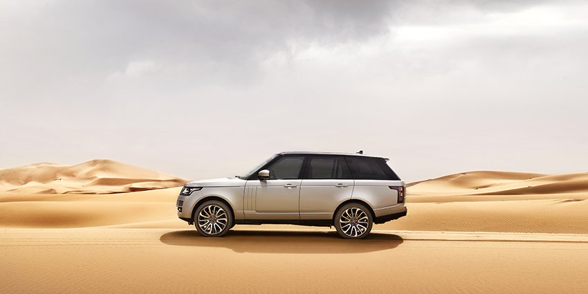 Land Rover Range Rover Exteriors Side View