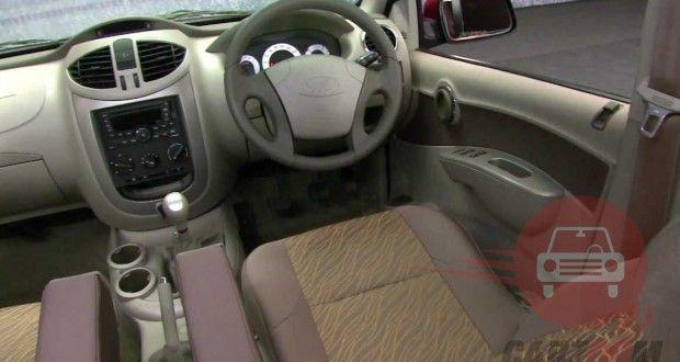 Mahindra Quanto Interiors Dashboard