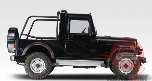 Mahindra Thar Exteriors Side View