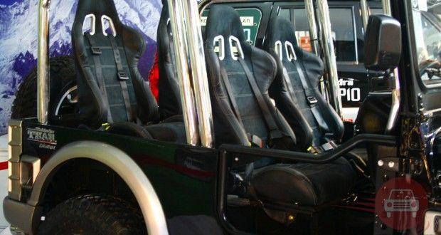Mahindra Thar Interiors Seats