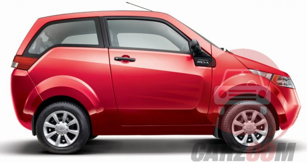 Mahindra e2o Exteriors Side View